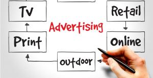 Advertising mediums - print, online, TV, outdoor