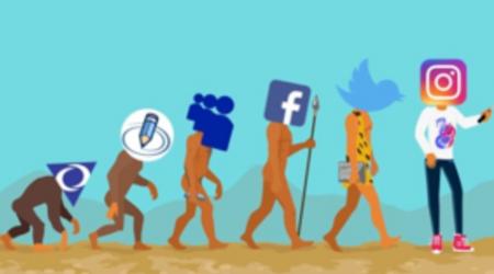 evolution of social media and human behavior
